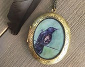 Raven Locket - As the Cro...