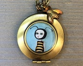 Bee Necklace - Bee Girl L...