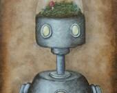 Robot Art Print - Felix (...