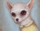 Dog Art - Elroy, 8x10 cut...
