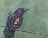 As the Crow Flies giclee ...