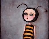 Art Print - The Bee Girl ...