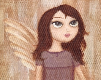 Angel with One Wing art print