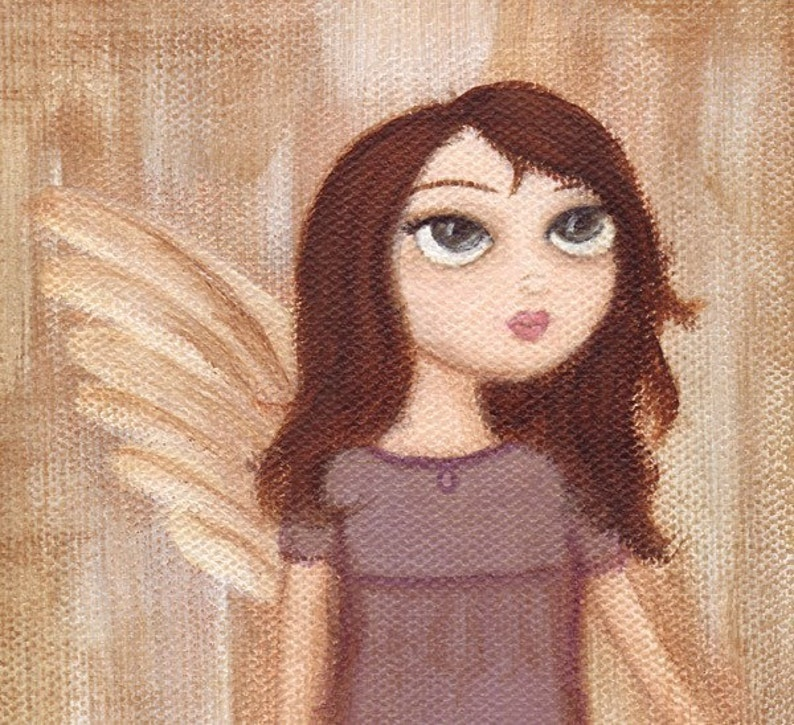 Angel with One Wing art print image 0