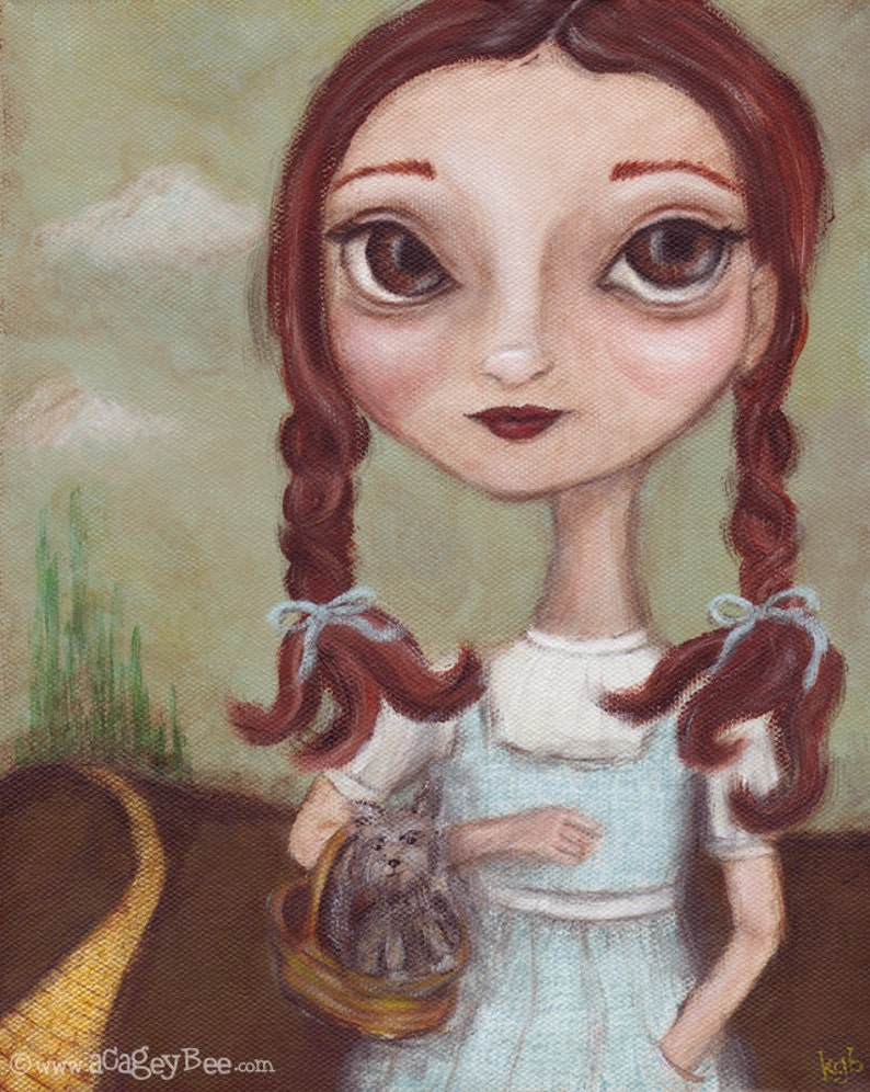 Art Print  Dorothy  giclee print from original painting image 0