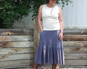 Frontier lacey bib blouse (hemp/organic cotton)