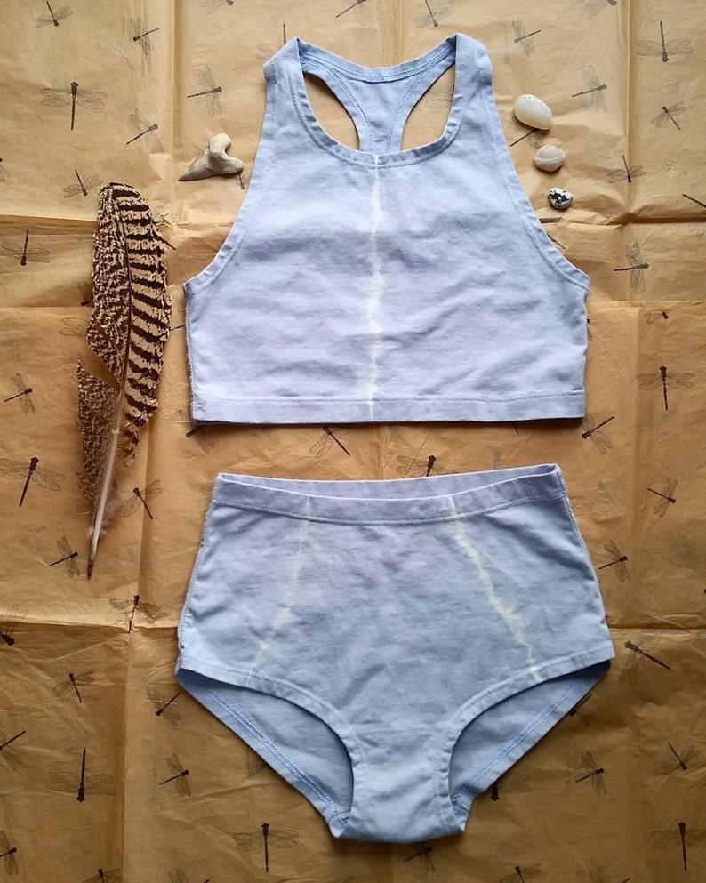 Higher Tie dye brief stretch hemp