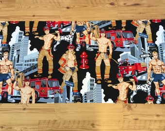 Firefighter fabric by Alexander Henry 1/2 yard