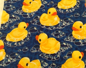 Rubber ducky fabric by Alexander Henry 1 1/2 yard