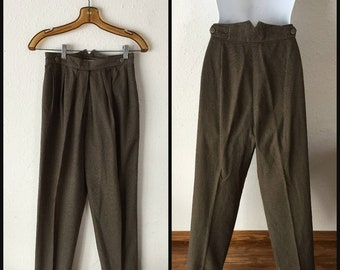 Vintage 1940s Womens Trousers 9e8b76c4a