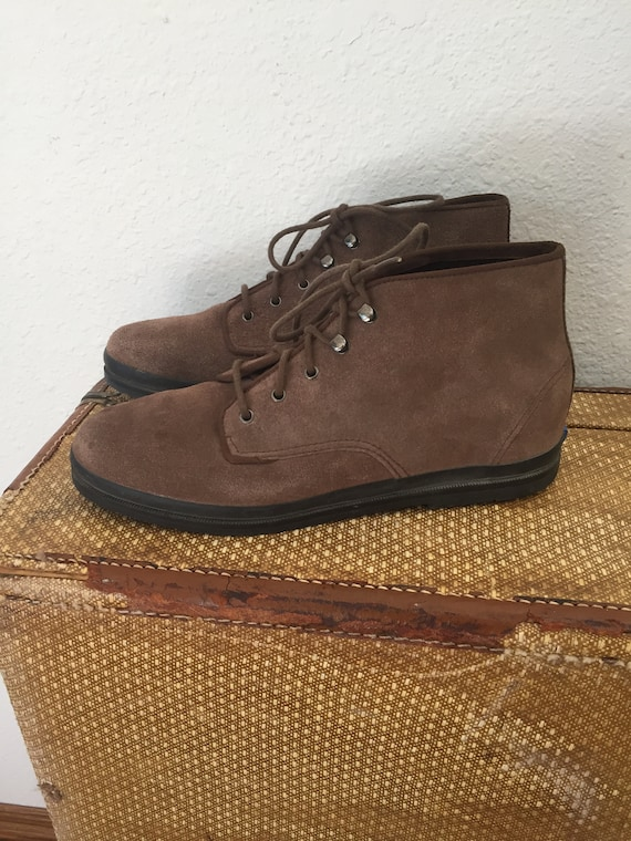 Keds Ankle Boots 90s Brown Leather
