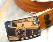 Old school camera belt buckle