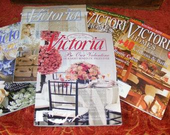 Big Lot Victoria and Victorian Homes Magazine Bundle June 2008 Dec 07 Jan Feb May 1997