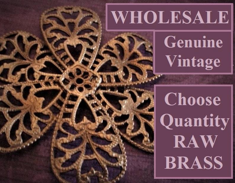 Wholesale Lot 50mm Vintage Victorian Steampunk Filigree Ornate image 0
