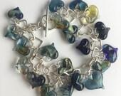 heart bracelet, 20 hearts