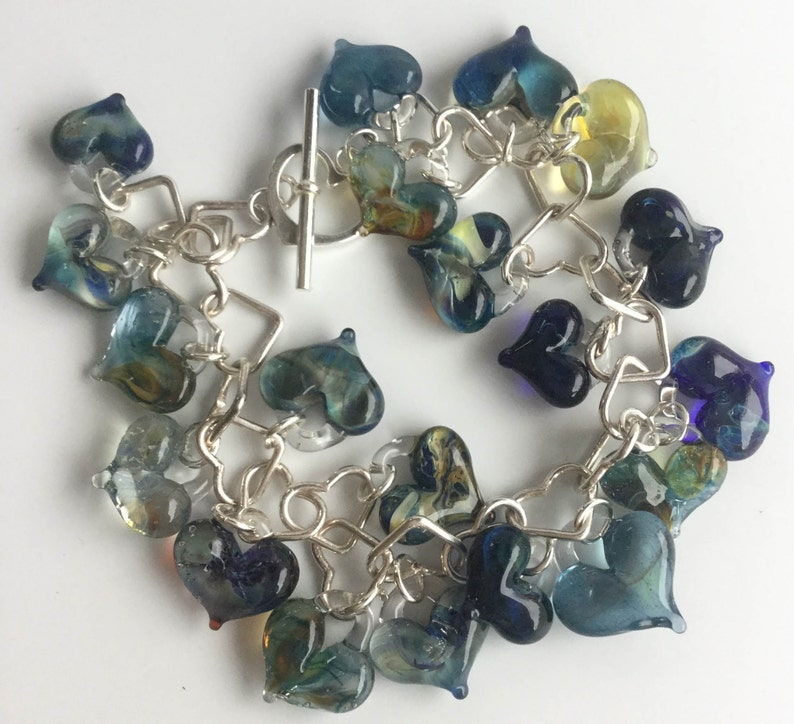 heart bracelet 20 hearts image 0