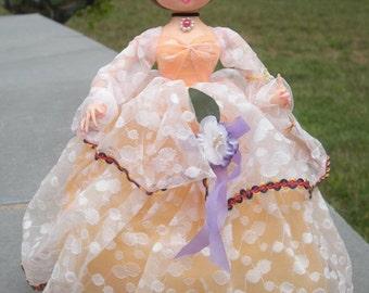 Vintage Big Eye Korea Pose Doll