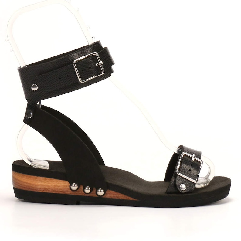 976e0fb67fca Low Ankle Cuff Sandal Eco-friendly and Responsibly Made in