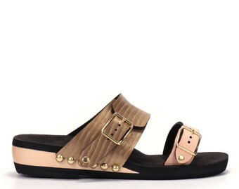 Low Slide Sandal - Made in USA - Eco-friendly and Sustainably Sourced