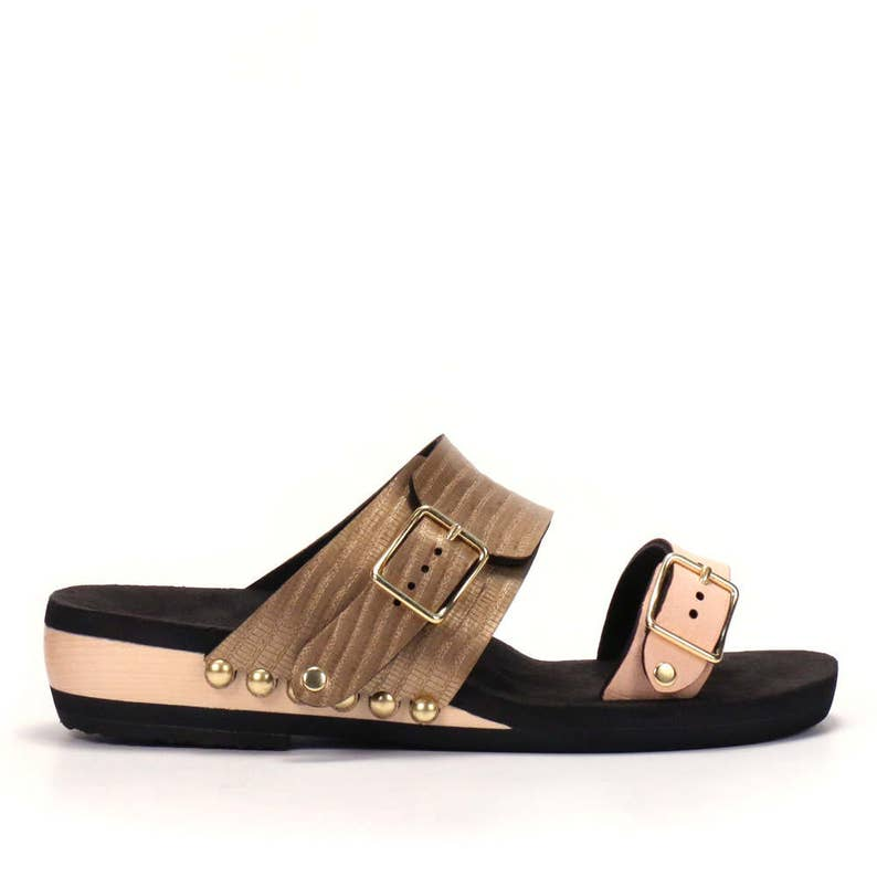 1f6bdb53a4be Low Slide Sandal Made in USA Eco-friendly and Sustainably