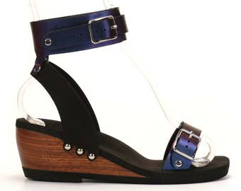 Mid Ankle Cuff Sandal - Eco-friendly and Responsibly Made in the USA