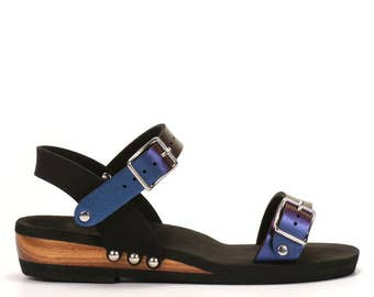 Low Ankle Strap Sandal - Made in USA