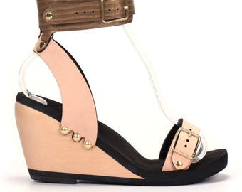 High Ankle Cuff Sandal - Eco-friendly and Responsibly Made in the USA