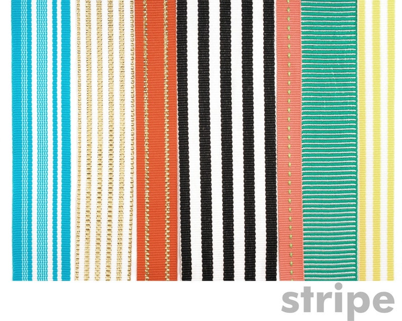 bc77dbcb9ed8b Stripe Set of 7 ribbons for Mohop Interchangeable Sandals