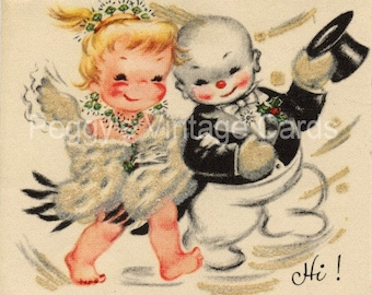 380 Vintage Christmas Greeting Card Images on CD Vol 7