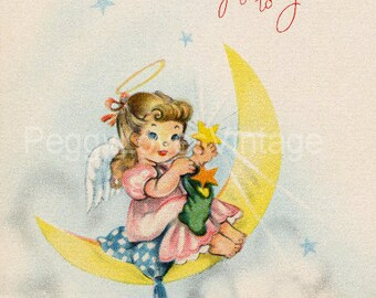 Vintage Christmas Greeting Card Images on CD Vol 12