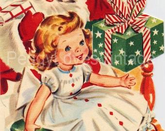 Vintage Christmas Greeting Card Images on CD Vol 13