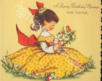 Vintage Bithday Greeting Card Images Vol 1 on CD Over 440 Images Digital Collage