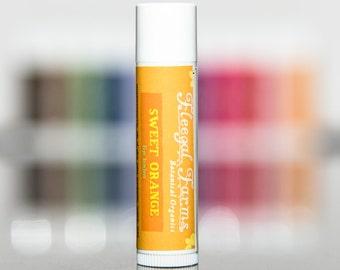 Sweet Orange Natural  Lip Balm