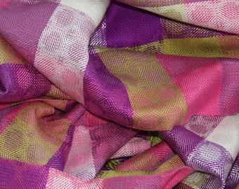Tutti-Frutti Handwoven Silk Scarf