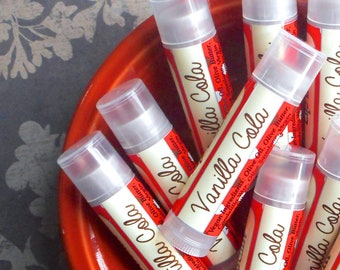 Vanilla Cola Vegan Lip Balm
