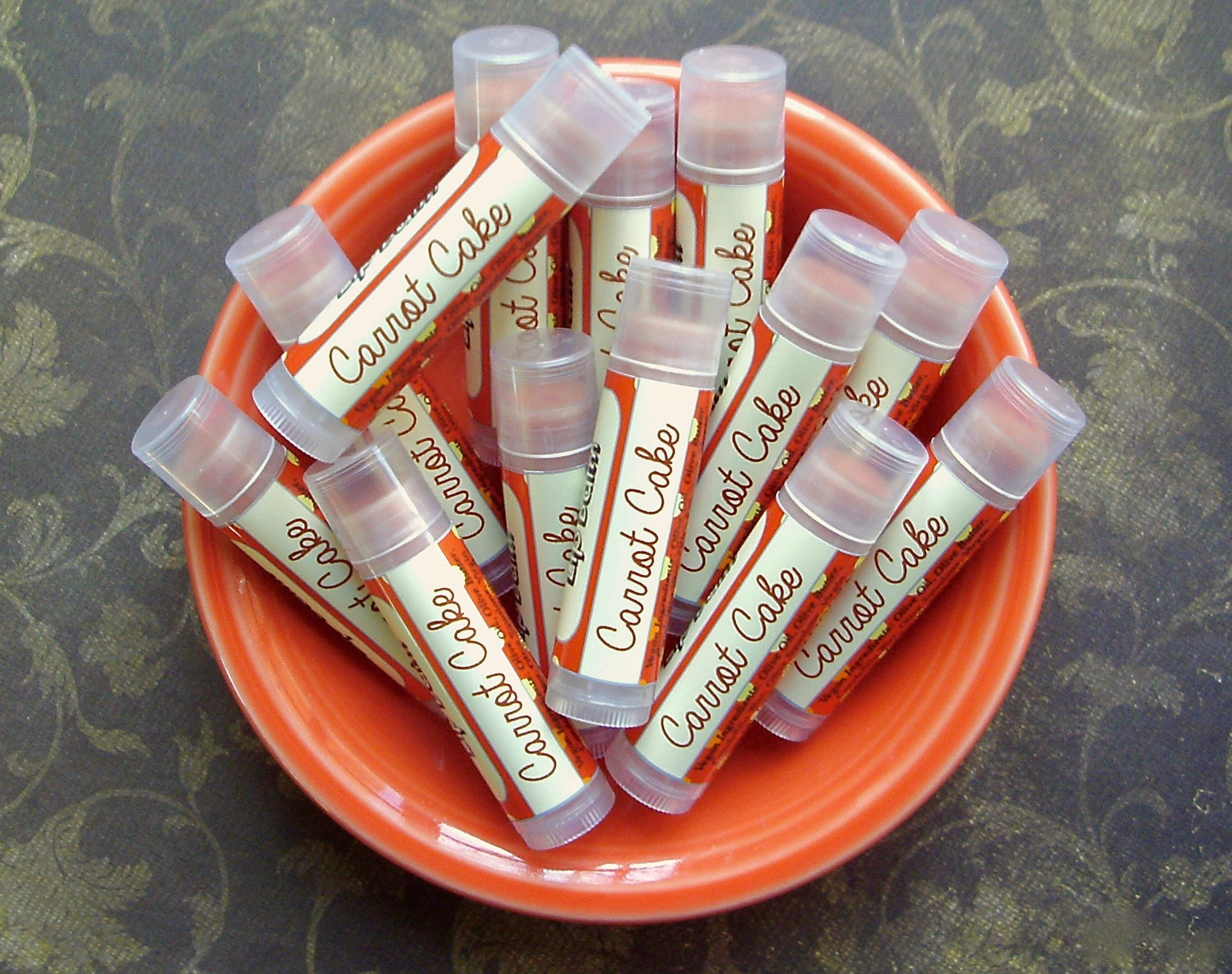 Carrot,Cake,Epic,Vegan,Lip,Balm,Bath_And_Beauty,Lip_Balm,lip_balm,lipbalm,lip_gloss,epically_epic,vegan_lip_balm,gluten_free_lip_balm,indie_lip_balm,EE_lip_balm,chapstick,carrot_cake_flavor,vanilla_frosting,spice_cake,spring_collection,vitamin e,candelilla wax,flavor,natural sweetener,v