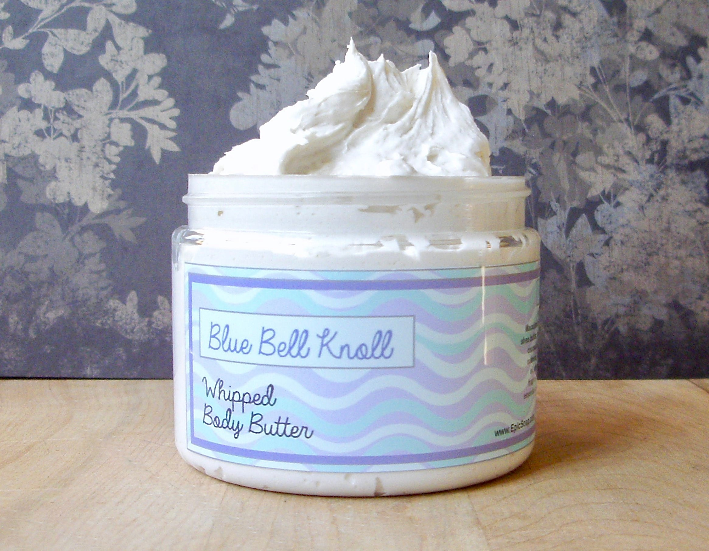 Blue,Bell,Knoll,Whipped,Body,Butter,Bath_And_Beauty,hand_cream,body_butter,vegan,vegan_lotion,epically_epic,whipped_body_butter,whipped_shea_butter,body_cream,vegan_body_butter,spring_collection,bluebell_lotion,bluebell_scent,blueberry_vanilla,macadamia butter,jojoba,olive squalane,fragranc