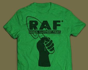 RAF (Radical Allotment Front) T-Shirt