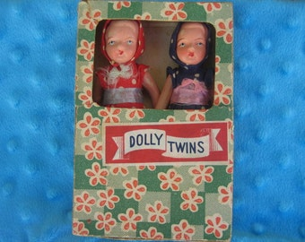 Vintage Twin Dolls