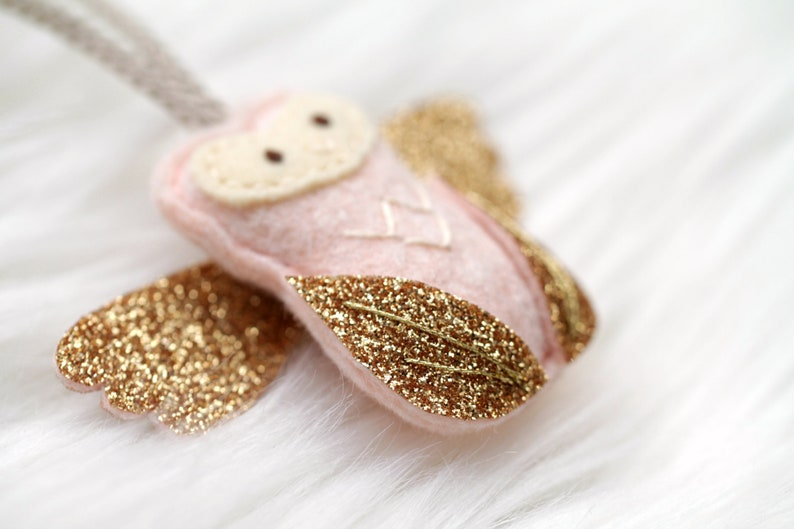 Pink Mini Angel Baby Ornament. Miscarriage Keepsake. Beautiful image 0