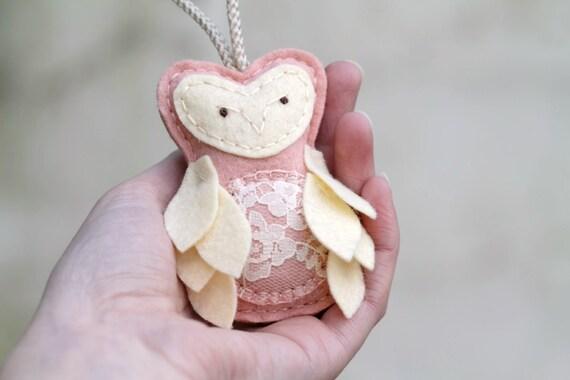 Owl Christmas Ornament. Expecting Mother Keepsake. Gift