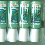 PUFF Paint TULIP Colorpoint - 8 Paint Tubes of CELERY (light green) Stitch Paint Looks like Embroidery Crafts Art Painting Garden Flowers