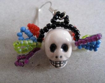 Calaverita Earrings