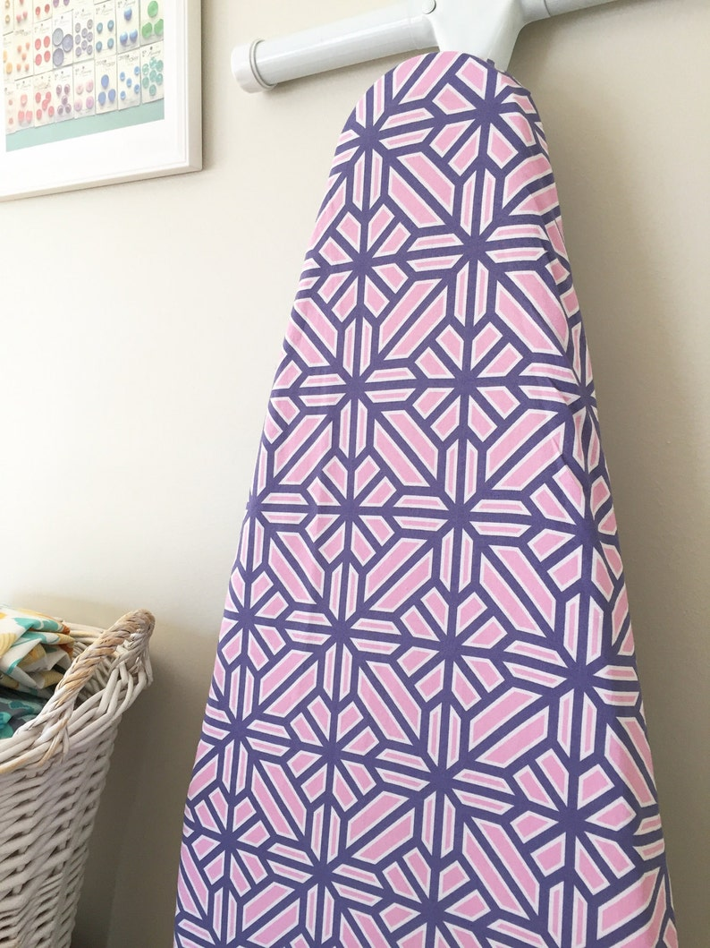 Ironing Board Cover  Arbor in Fuchsia  Featured in HGTV image 0