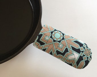 Cast Iron Skillet Pan Handle Cover - Choose your fabric