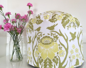 Instant Pot Cover - Reversible - Anter Damask and Mum Floral