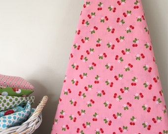 Ironing Board Cover - Sew Cherry in Pink