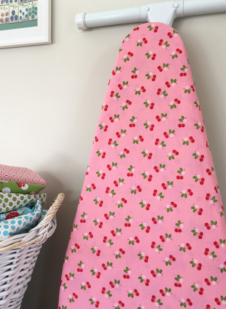 Ironing Board Cover  Sew Cherry in Pink image 0