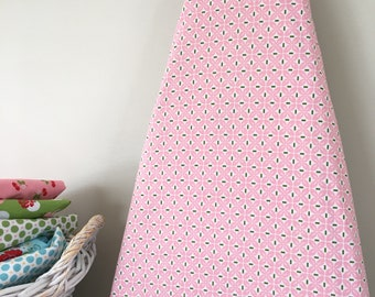 Ironing Board Cover - Leaf in Pink