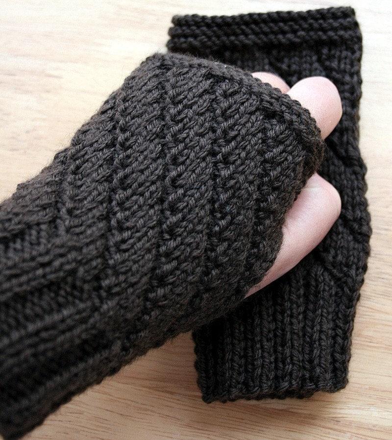 Knitting Pattern Fingerless Gloves Knitting Pattern